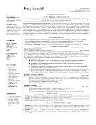 Resume Templates Engineering Best Resume Examples For Engineering Students Industrial Engineering
