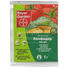 <b>Инсектицид от колорадского жука</b> Конфидор Экстра, 1 г, Bayer в ...