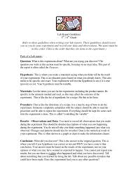 Example Of A Lab Report Simple Sample Lab Report Science Classroom Science School