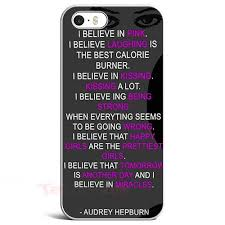 Samsung Quote New Quote Audrey Hepburn IPhone Case Samsung Case IPhone 48 Cases