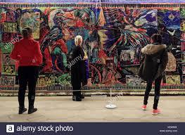 Tapestry Of Light Canterbury Australian Artist Irene Barberis Centre With Her Design The