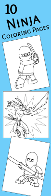 10 Ninja Coloring Pages For Your