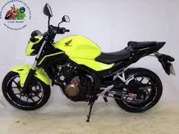 honda cb 500 gelb gebrauchtmotorrad