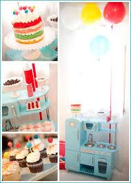 Real Party Cake Ice Cream Birthday