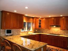 gold granite kitchen finished installed 1 stone countertop seams