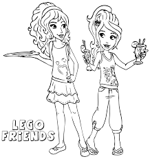Small Picture Lego Friends Coloring Pages Printable Free Coloring Coloring Pages