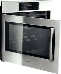 benchmark series single electric wall oven bosch review double
