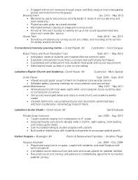 Ministry Resume Template Pastor Resume Sample Pastoral Resume