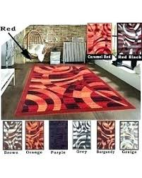 fascinating red orange rug furniture red orange bath rugs elegant red orange rug