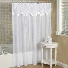... Breathtaking White Shower Curtains White Textured Shower Curtain White  Wall: white shower curtains ...