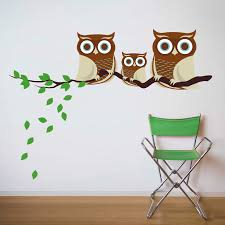 owl wall decals 9 in decors