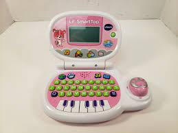 VTech Learning Laptop Lil' SmartTop Blue Kids Electronic Computer Toy for  sale online