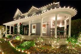 lighting trend. Pretty-house-christmas-lights-exterior-decoration-house-facade Lighting Trend