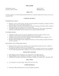 Resume Examples, Objective Military To Civilian Resume Templates Summary Of  Skills Employment History Education Computer