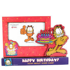 Buy Happy Birthday Cake Garfield Photo Frame Online At Best Price In