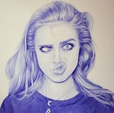 20 realistic ballpoint pen drawings from african artist enam bosokah realistic drawingspen drawingsdrawing