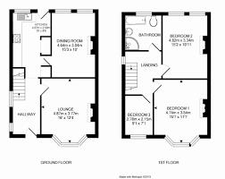 bedroom semi detached house floor plan bungalow duplex
