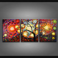 painted beautiful modern abstract painting wall art oil on canvas