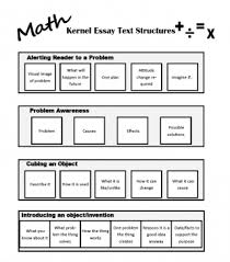 what is a kernel essay trail of breadcrumbs text structures for math