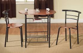 Space Saving Kitchen Table Sets Bistro Table Set 3 Piece Dining Table 2 Chairs For Kitchen Space