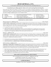 Accounting Resume Cover Letter Chartered Accountant Resume format Beautiful Chartered Accountant 75