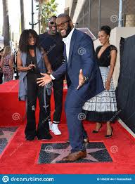 Tyler Perry, Crystal Fox, Idris Elba & Kerry Washington Editorial Stock  Image - Image of popular, event: 166533144