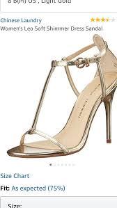 Chinese Laundry Shoe Size Chart Chinese Laundry Womens Leo Gold Sandal Size 7 5 Ebay