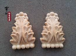 furniture motifs. Dongyang Wood Carving Fashion Corners Corbel Carved Motif Shavings Smd Furniture Door Cabinet Applique-in Figurines \u0026 Miniatures From Home Motifs