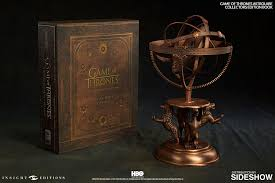 Engraved Wooden Music Box Game Of Thrones Game of Thrones Astrolabe Collector's Edition Book Set Insight 83
