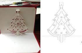 Large Size Of Greeting Cards Pop Up Templates Lights Christmas Tree ...
