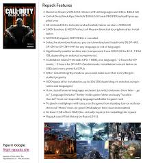 The most popular part of the famous beloved game became famous all over the world. Call Of Duty Black Ops 3 V100 0 0 0 All Dlcs Multi10 Fitgirl Repack Selective Download From 42 4 Gb Crackwatch