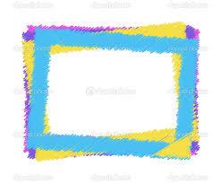 Vector Colorful Frame Stock Yana Gudimova Bebo Pandco