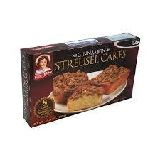 Although there is not a great deal of cinnamon baked into these coffee cakes, there is sufficient to be able to taste it. Coffee Cakes Little Debbie