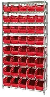 12 inch deep wire shelving units system 9 shelves bins rd