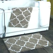 reversible bath rug reversible cotton bath rugs 2 piece trellis percent cotton bath rug set x