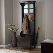 Coat Rack Bench With Mirror Basic Woodworking Projects Tree Coat Rack Hall Stand And Coat Racks 40