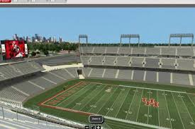 Cougar Field Seating Chart Interactive System Gives Uh Fans Unique Look At New
