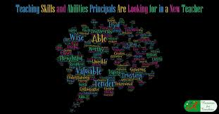 Teaching Skills And Abilities Principals Are Looking For In