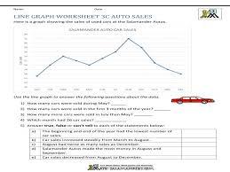 Best Reading Graphs Free Worksheets Math Line Graph Worksheet ...