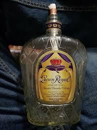 crown royal bottle tiki torch patio