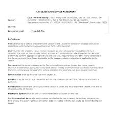 Example Of Lease Agreement Letter Printable Sample Simple Rental ...
