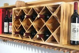 wine rack rustic wooden wall wine rack wall mounted wood wine rack hanging bar