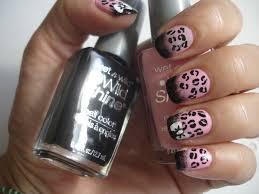 Pink Leopard Nail Art & Tutorial
