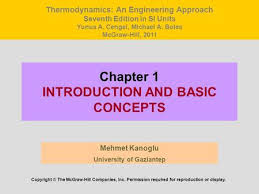 Thermodynamics An Engineering Approach Yunus A. Çengel - ppt video ...