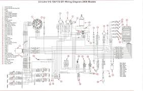 mercury marine wiring harness diagram solidfonts mercury outboard wiring harness diagram solidfonts