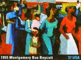best dom walkers the story of the montgomery bus boycott 1955 montgomery bus boycott fine art print