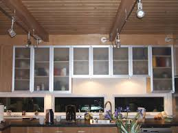 Cabinet With Frosted Glass Doors Stainless Steel Cabinets With Frosted Glass Doors Monsterlune