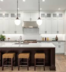 upper cabinet height for kitchens