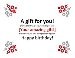 Plain Gift Certificate Template Gift Certificate