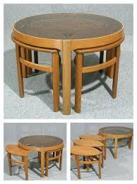 Teak And Glass Coffee Table Vintage Nathan Teak And Glass Petal Table 125 Vintage Retro